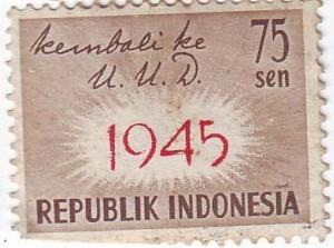 kembali ke UUD 1945