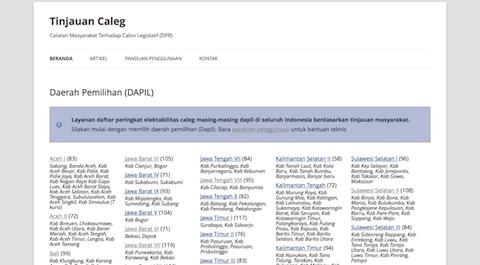 datacaleg.com tinjauan caleg dari masyarakat